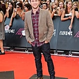 Phillip Phillips made an appearance on the red carpet.