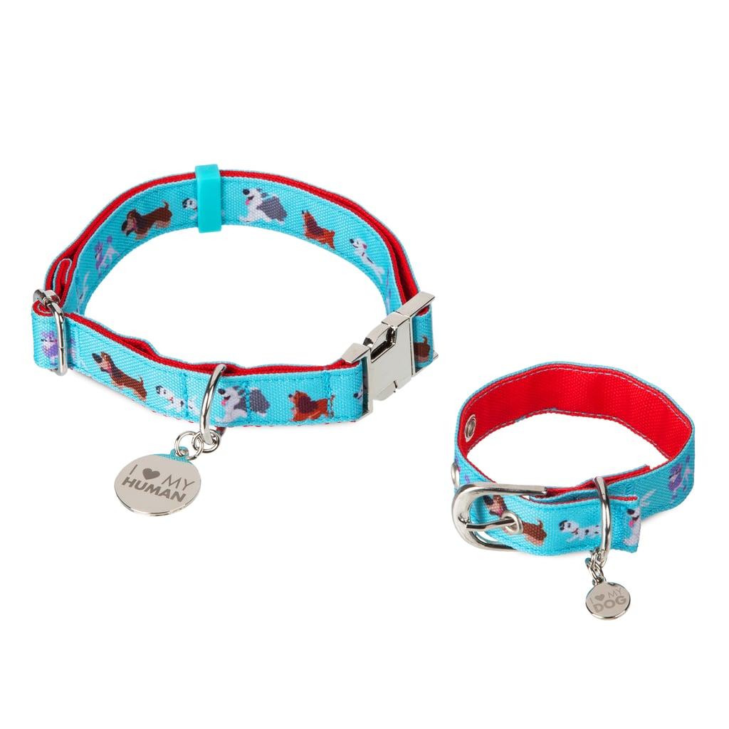 Disney Dogs Dog Collar and Bracelet Set