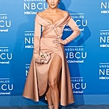 May at the NBC Universal Upfronts in New York City