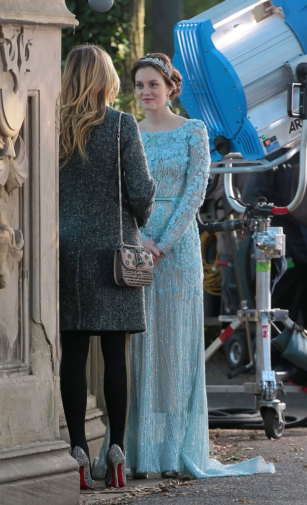 Remember Blair\'s Blue Wedding Dress From Gossip Girl? Elie Saab ...