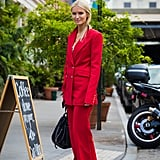 Of course, you could always invest in a power suit in your favorite shade of red.