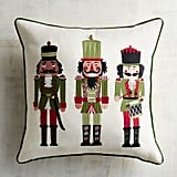 Sateen Nutcrackers Pillow ($35)