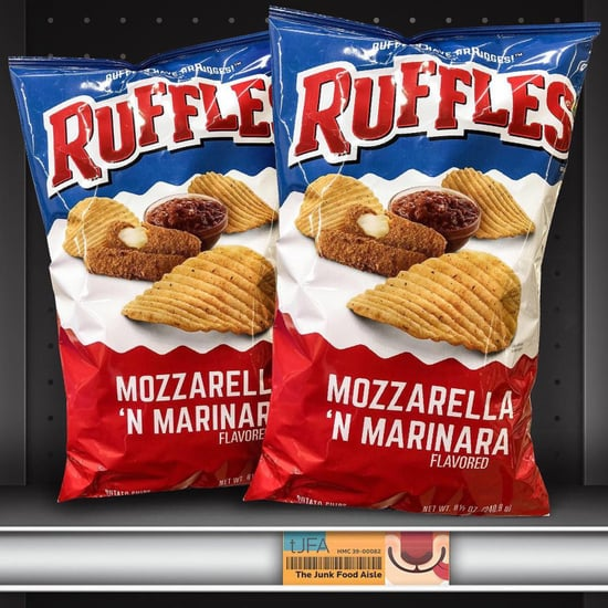 Mozzarella Stick and Marinara Ruffles