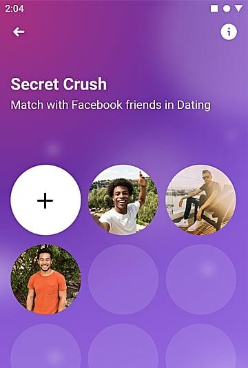 Facebook Secret Crush 2019