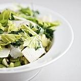 Fall Dinner Party Menu: Celery and Parmesan Salad