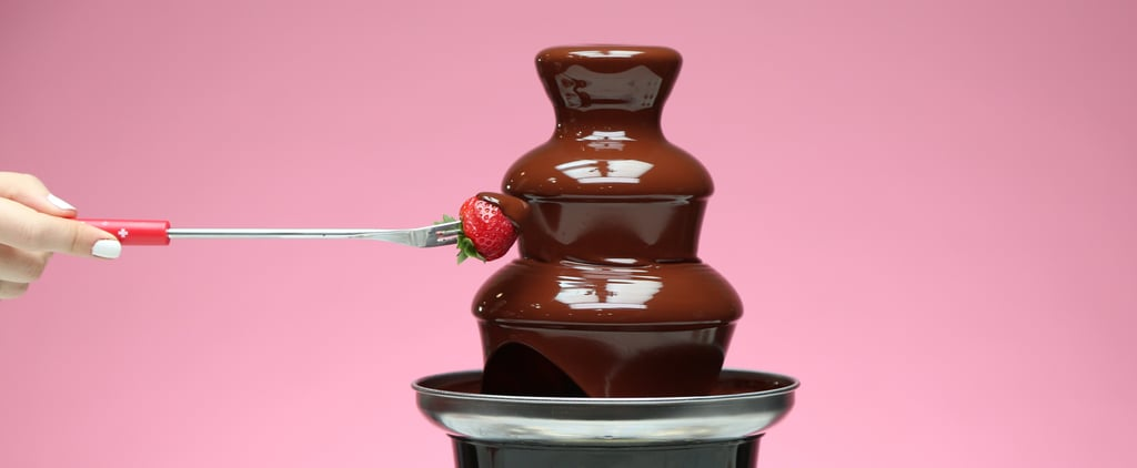 Ring in the New Year With This Vegan Chocolate Fountain