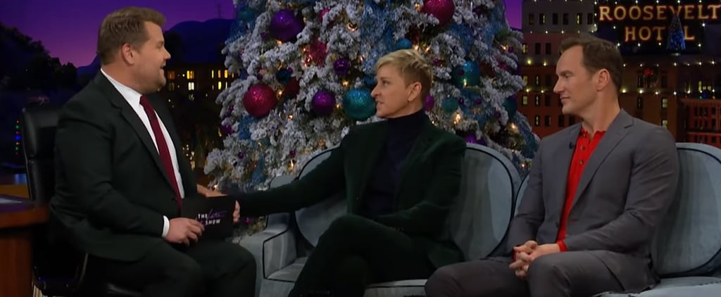 Ellen DeGeneres Talks Stand-up on James Corden December 2018