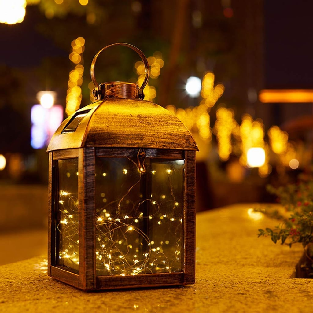 Solar Hanging Outdoor Christmas Lantern