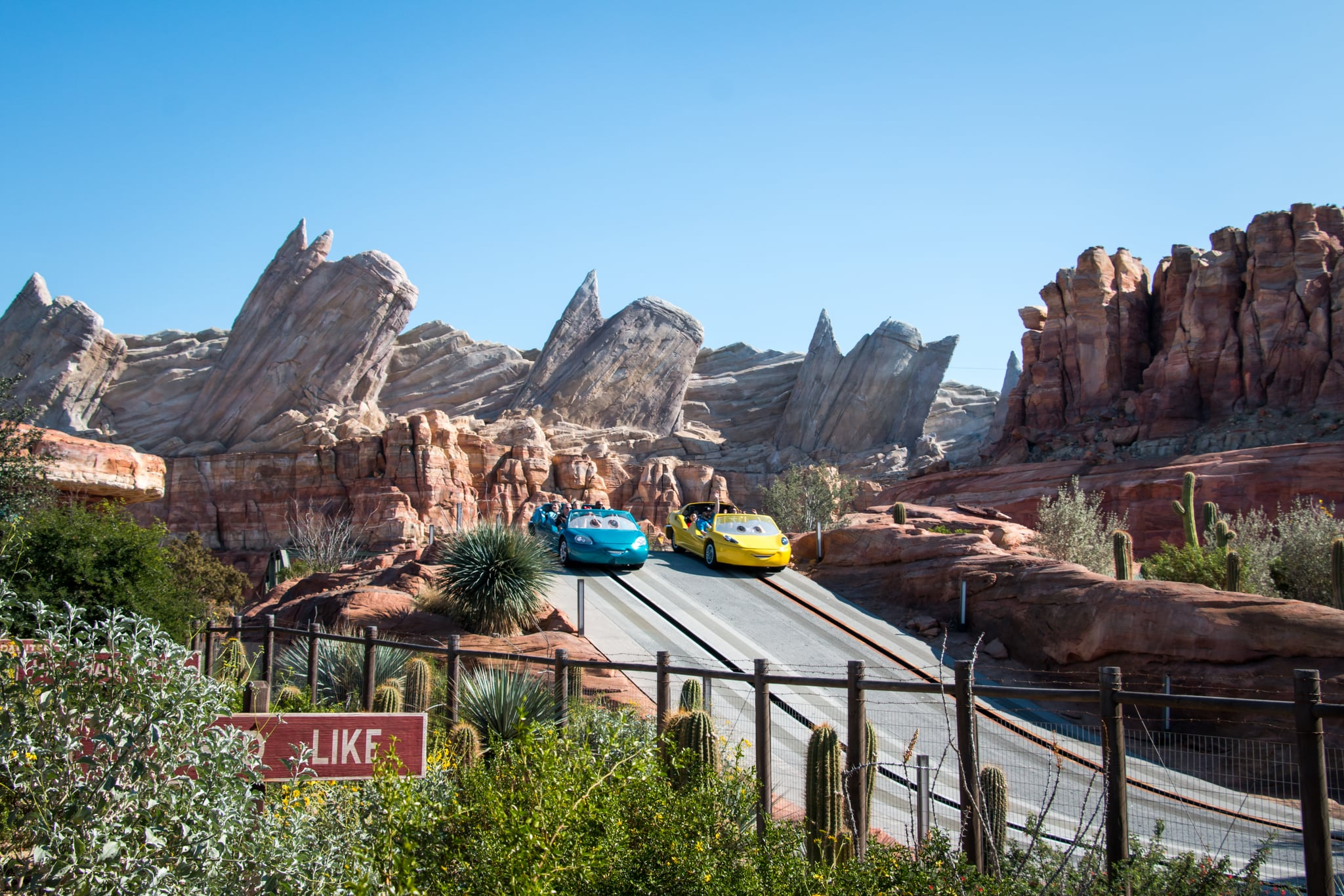 Radiator Springs Racers Disney California Adventure Here Are The 11 Best Rides At Disneyland According To Parkgoers Popsugar Smart Living Photo 10
