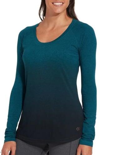 Everyday Heather Dip Dye Long Sleeve Shirt