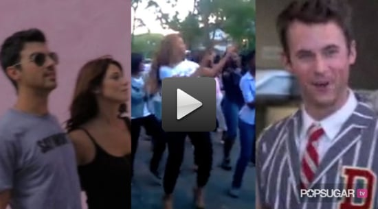 Video of Ashley Greene and Joe Jonas in LA, Beyonce Dancing at a Block Party, and Brad Goreski Leaving Rachel Zoe 2010-09-29 14:30:00