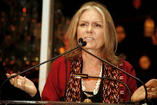 Gloria Steinem Campaigns for Hillary Clinton
