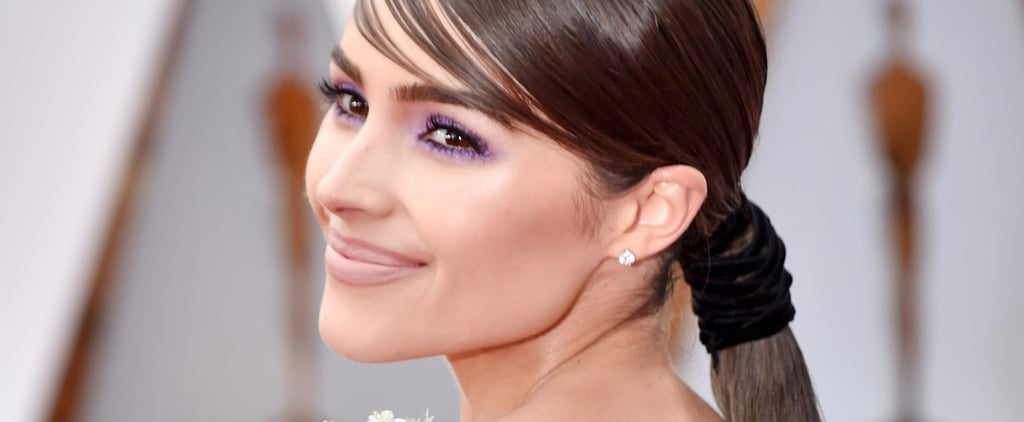 Olivia Culpo Makeup and Hair at the Oscars 2017