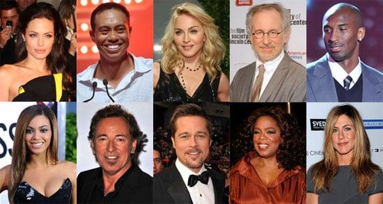 2009 Forbes 100 List Photos