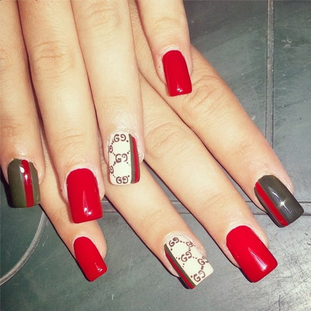 Gucci Fashion Designer Inspired Manicure Ideas
