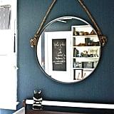 Make an On-Trend Round Rope Mirror