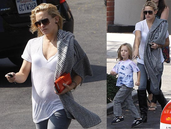 Photos of Kate Hudson and Ryder Robinson in Santa Monica