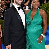 Serena Williams and Alexis Ohanian — 2017