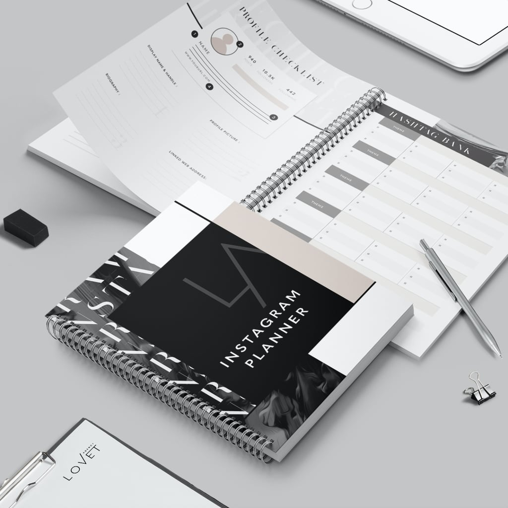 Instagram Planner Notebook