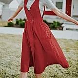 Ofenbuy V-Neck Jumper Dress