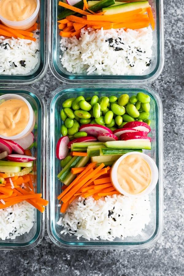 Vegan Sushi Bowls