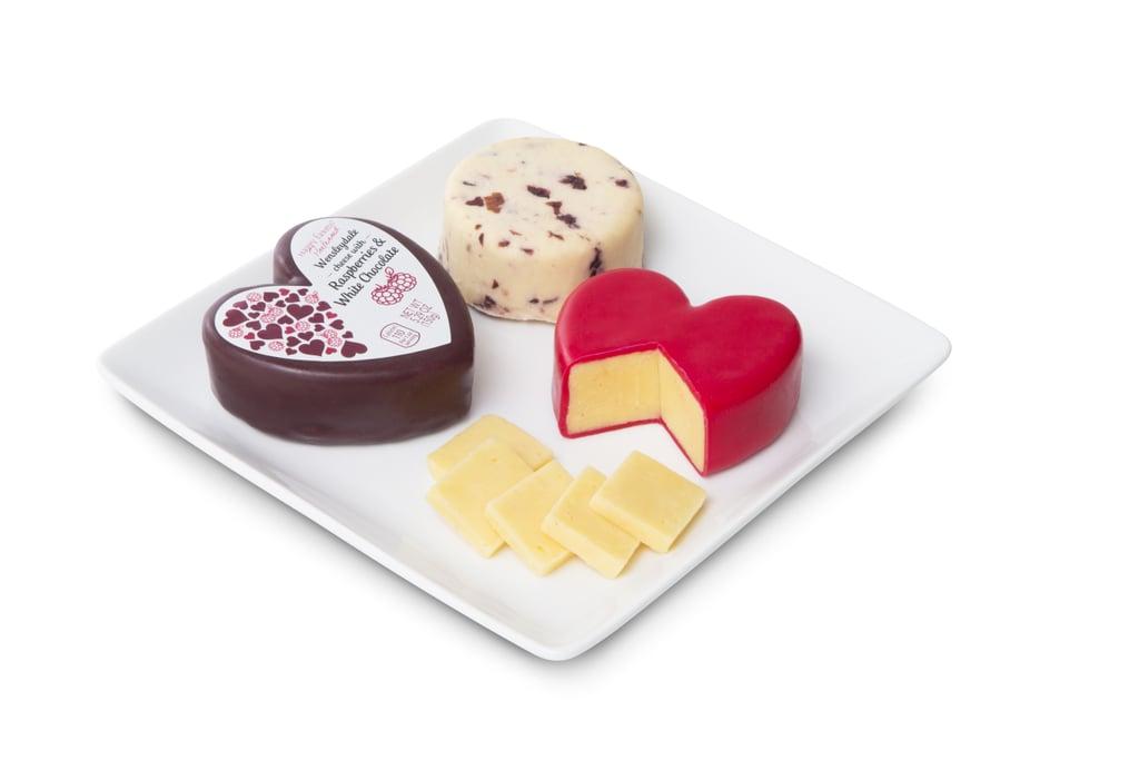 Aldi's Valentine's Day Cheese Assortment