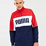 Puma Retro Quarter Zip Turtleneck Pullover, ($90)