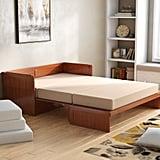 Barham Cube Queen Murphy Bed With Mattress