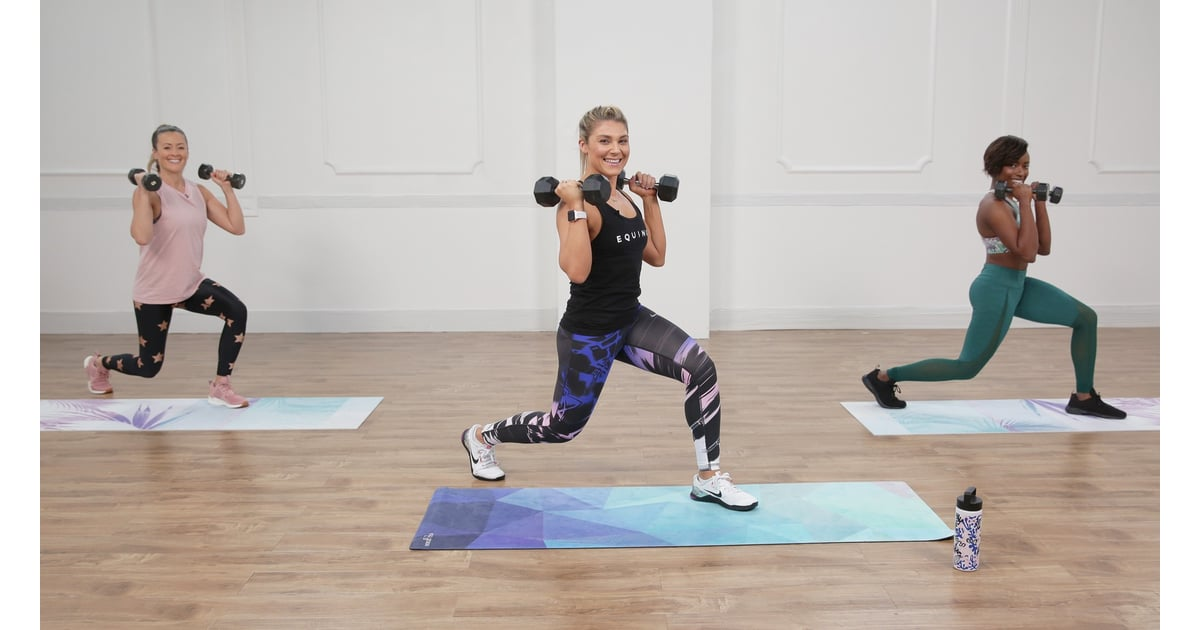 VIDEO: Grab Your Weights For This 30-Minute HIIT Workout