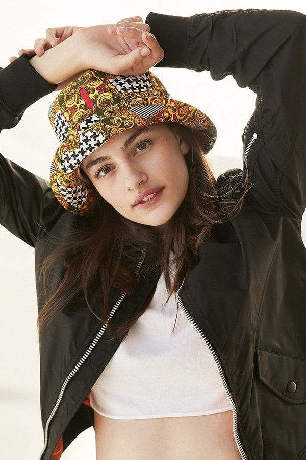 Urban Outfitters Mixed Print Bucket Hat Best 90s Clothes From