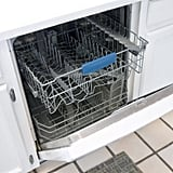 Clean your dishwasher.
