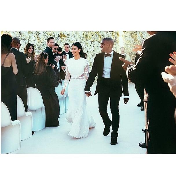 Cheers to 2 Years! Look Back on Kim Kardashian and Kanye West's Lavish Italian Wedding Photos