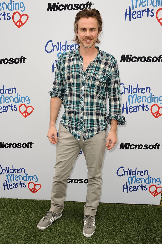 Sam Trammell showed his support at the Children Mending Hearts Spring benefit.