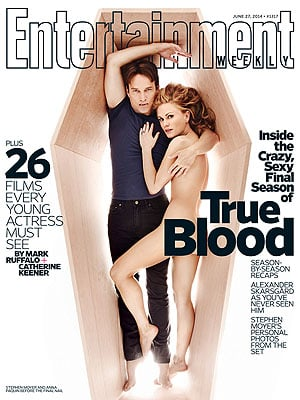 Anna Paquin Talks Shooting True Blood Love Scene - Directed by Husband Stephen Moyer