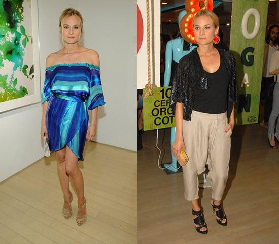 This Week's Fab Favorite: Diane Kruger x 2