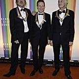 The surviving members of Led Zeppelin, Robert Plant, John Paul Jones, and Jimmy Page were honored at the Kennedy Center.