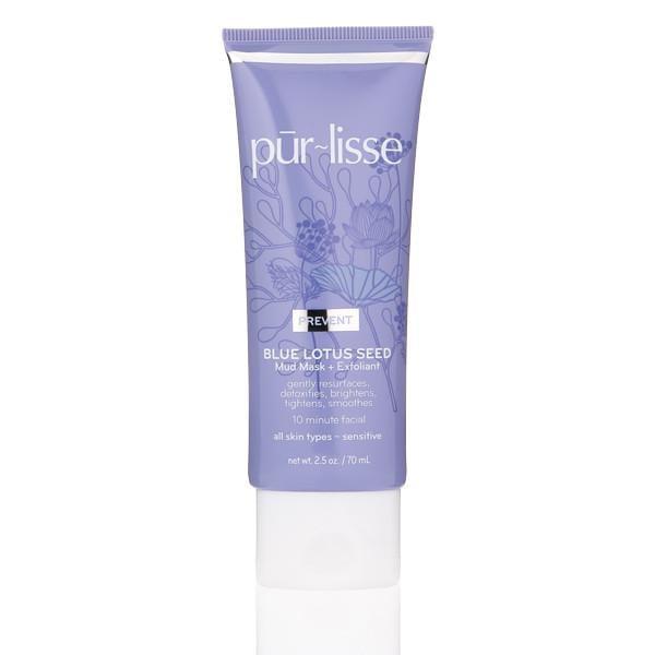 Purlisse Blue Lotus Seed Mud Mask + Exfoliant