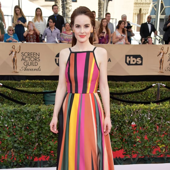 Celebrities Wearing Stripes at the SAG Awards 2017
