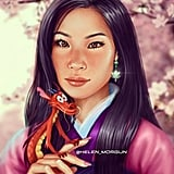 Celebrity Princess: Lucy Liu as Mulan