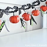 Cookie Cutter and Pumpkin Garlands