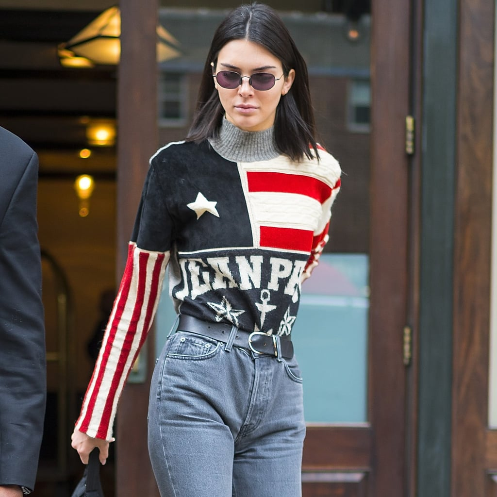 5eeb6ddaf903 Kendall Jenner American Flag Sweater