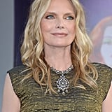Michelle Pfeiffer posed at the premiere of Dark Shadows in LA.