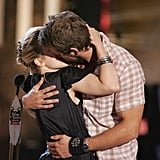 Rachel McAdams and Ryan Reynolds got really close on stage at the Teen Choice Awards in August 2005.
