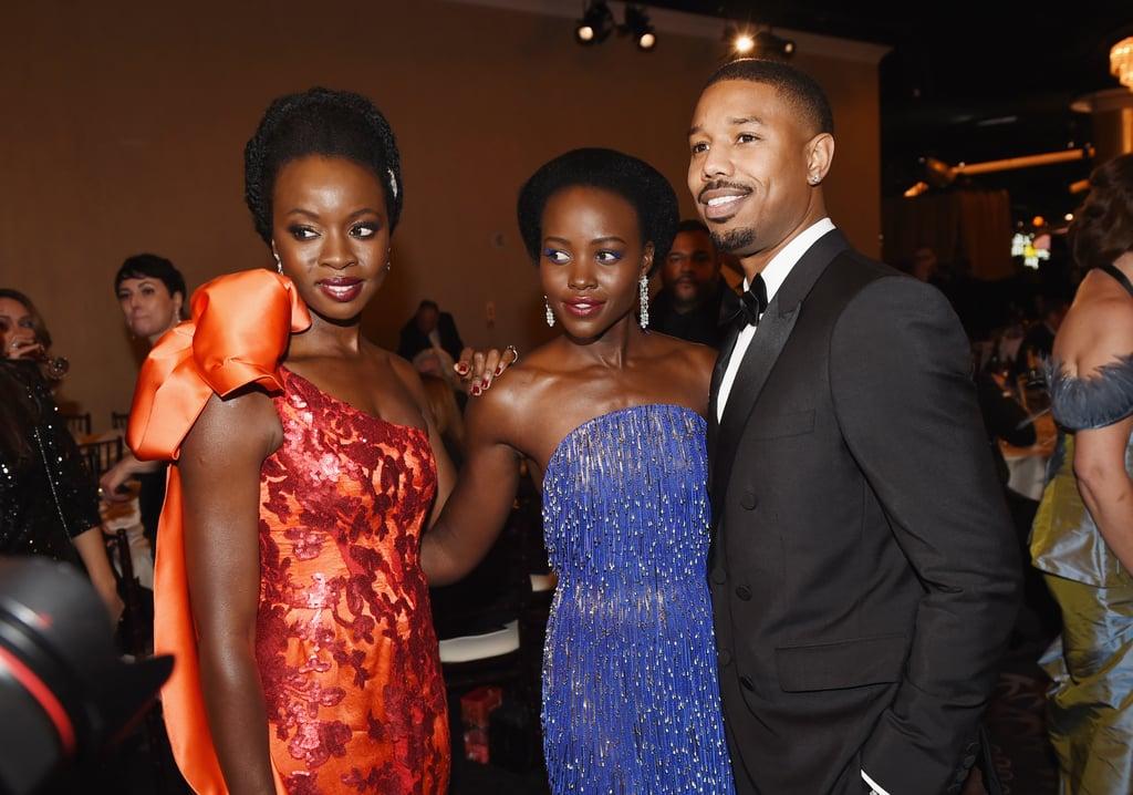 Black Panther Cast At Golden Globes 2019 Photos Popsugar
