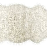 Lifestyle Brands 2'x3' Gordon Faux Sheepskin Rug ($89)