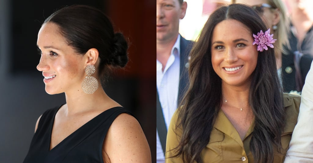 Meghan Markle's Hairstyles During Southern Africa Royal Tour