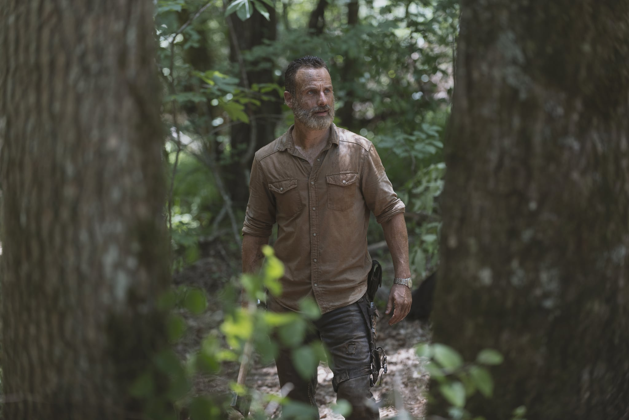 Andrew Lincoln as Rick Grimes - The Walking Dead _ Season 9, Episode 4 - Photo Credit: Gene Page/AMC