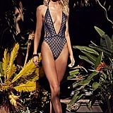 Fishnet Lace Lima One-Piece
