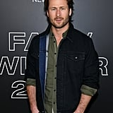 Glen Powell at the Rag & Bone Fall 2020 Show