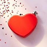 6-Oz Heart Flask ($14)